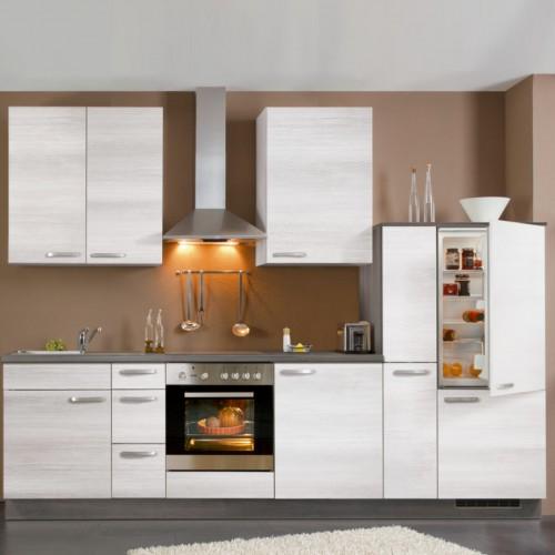Einbau Küchenzeile 300 Cm Komplett Mit Elektrogeräte