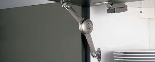 Klappenhalter  Unterschrank mit 1 Schubkasten und 2 Auszüge wertiger klappenhalter