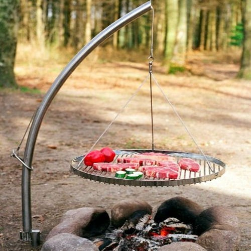 Camp Fire Grillplatz