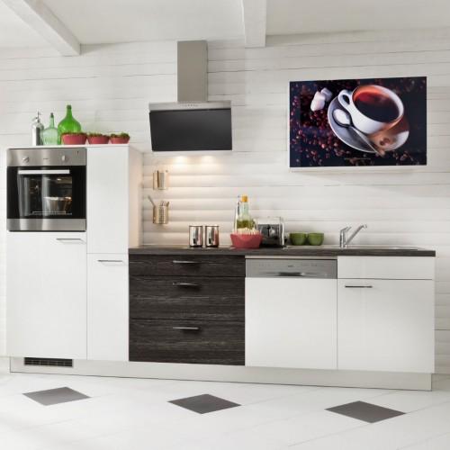 Moderne Kuche Mit Elektrogerate 290 Cm Stellmass