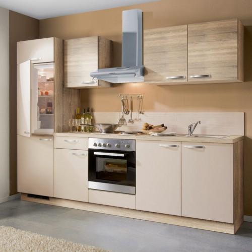 Küchenblock 270 cm Stellmass