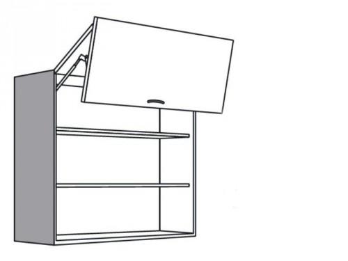 Faltturen hangeschrank kuche for Kuchenhangeschranke glas