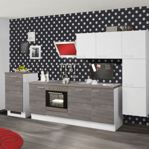 pino k chenzeile ohne ger te. Black Bedroom Furniture Sets. Home Design Ideas