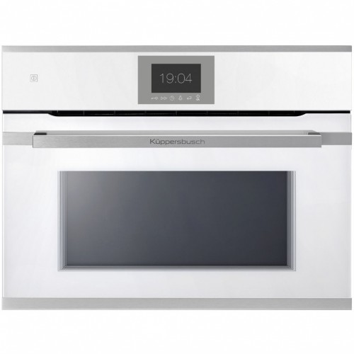 Compact Backofen mit Mikrowelle weiss