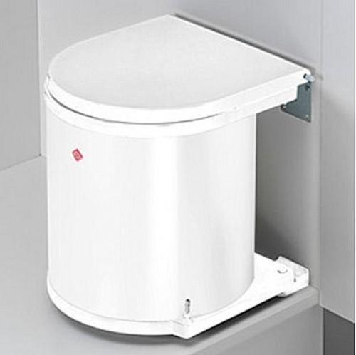Einbau-Abfalleimer 11 Liter Deckel öffnet automatisch