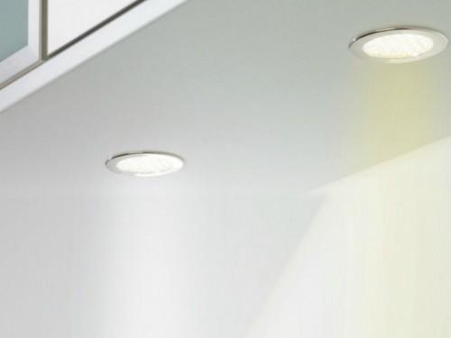 Einbauleuchten Küche Halogen | Einbauleuchte Einbaulampe Kuche Fachberatung Bei Inwerk