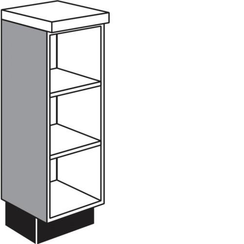 Ausgleichsschrank-Regal für die Küche mit variabler Breite von 150-600 mm