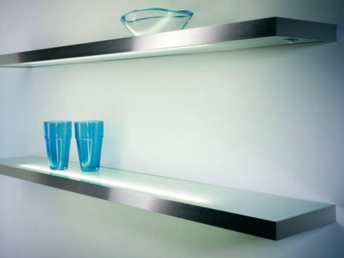 Glasregal Küche | Beleuchtete Glasborde Glasbodenleuchten Fachberatung Bei Inwerk