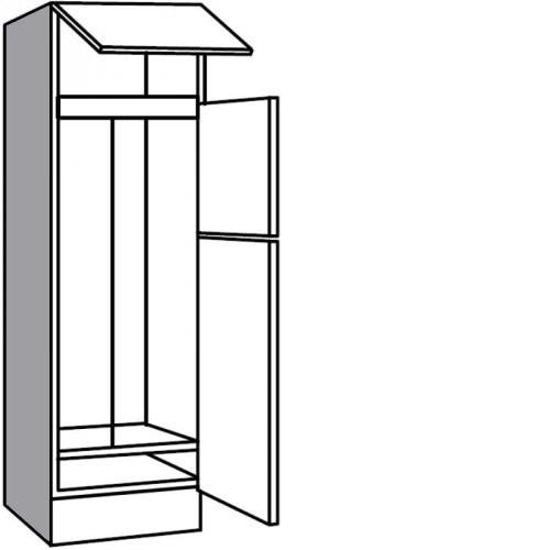 Hochschrank Für Kühl Und Gefrierkombination Mit Nischenhöhe 1446 Cm