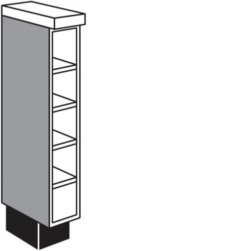 unterschrank regal f r flaschen 150 mm breit. Black Bedroom Furniture Sets. Home Design Ideas
