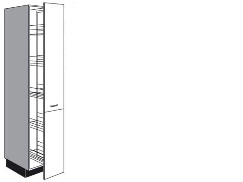 apothekerschrank mit k rben 1907 mm h he. Black Bedroom Furniture Sets. Home Design Ideas