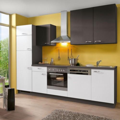 Einbau-Küche ohne Elektrogeräte