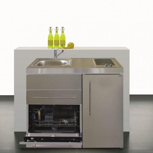 Kleinkuche Minikuche 100 Cm Breit Mit Geschirrspuler