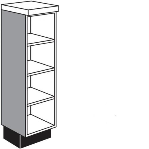 maxi unterschrank regal f r die k che. Black Bedroom Furniture Sets. Home Design Ideas