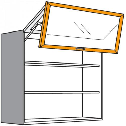 h ngeschrank mit kombinierter falt liftt r. Black Bedroom Furniture Sets. Home Design Ideas
