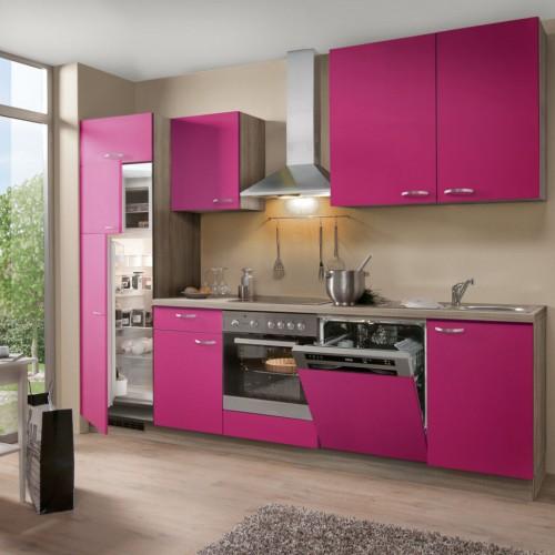 Einbau-Küchenzeile ohne Elektrogeräte