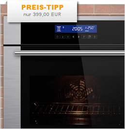 Backofen mit Touch-Control und Multifunktions-Display